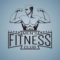 laranja do logotipo de fitness isolado no fundo branco vetor