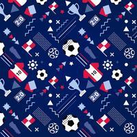 Copa do mundo de futebol de vetor de fundo