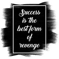 Inspiradora citação em uma textura pintada preta vetor