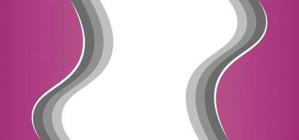 fundo bonito rosa geométrico moderno ou banner vetor