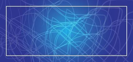 fundo abstrato azul ou banner vetor