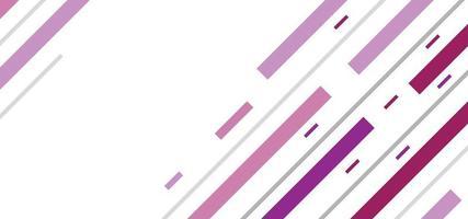 formas geométricas modernas e linhas de fundo ou banner simples vetor
