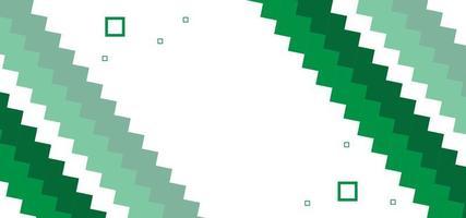formas verdes geométricas modernas, fundo bonito ou banner vetor