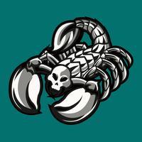 Tatuagem de escorpião 2 vetor