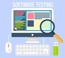Teste de software vetor