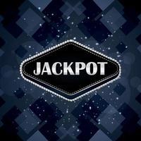 casino online jackpot jogo de azar com fundo criativo vetor