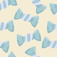 padrão sem emenda com doces em um estilo simples. vetor