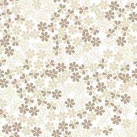 padrão floral sem emenda. fundo da flor. florescer papel de parede ornamental de verão com flores. vetor