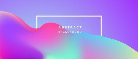 conceito de ecologia de fundo gradiente líquido pastel abstrato para seu design gráfico, vetor