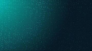 tecnologia de microchip de circuito digital no plano de fundo futuro, design de conceito digital e de comunicação de alta tecnologia, espaço livre para texto colocado, ilustração vetorial. vetor