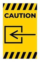 atenção entrada entrada não elétrica símbolo sinal vetor