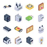 hardware e dispositivos vetor