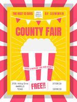 Impressionante County Fair Vetores