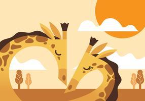 Animal amigos ilustração vetor