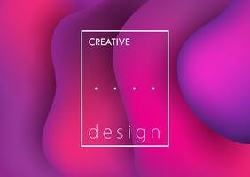Fundo design criativo vetor