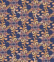 floral fundo ornamental sem emenda oriental textura retro florescer. padrão geométrico abstrato. ornamento oriental asiático vetor