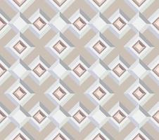 padrão geométrico abstrato da telha. pano de fundo sem costura com ornamento quadrado em estilo geométrico dos anos 1930 vetor