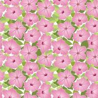 padrão floral sem emenda. fundo da flor. florescer textura de jardim com flores. vetor