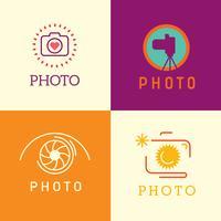 Logotipo do fotógrafo vetor