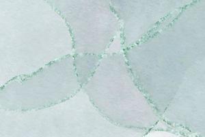 fundo do vetor aquarela gradiente verde hortelã