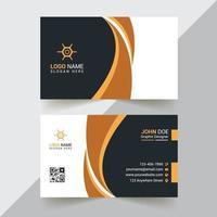 modelos de cartão de visita moderno e profissional corporativo e criativo vetor