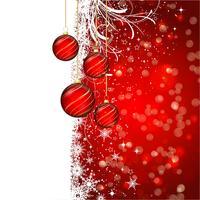 Fundo de quinquilharia de Natal vetor