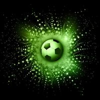 Fundo de futebol vetor
