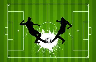 Fundo de futebol ou futebol vetor
