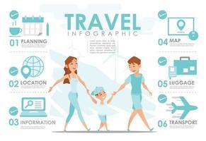 infográfico de viagens desenho vetorial conjunto 2 vetor
