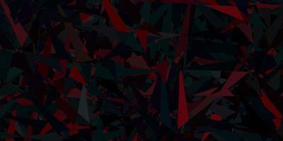 fundo vector azul, vermelho escuro com triângulos.