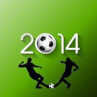 Fundo de jogador de futebol ou futebol vetor