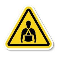 usar as costas suporte símbolo sinal vetor