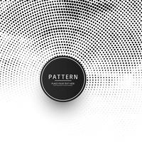Ilustração de fundo moderno meio-tom circular vetor