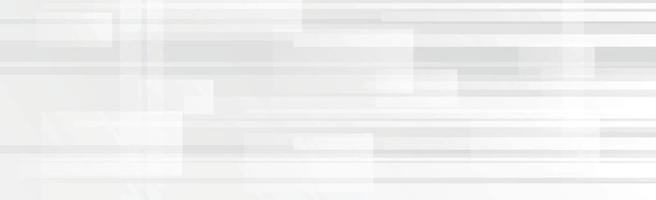 fundo panorâmico de vetor branco com linhas e caixas