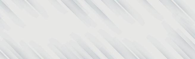 fundo panorâmico de vetor branco com linhas onduladas