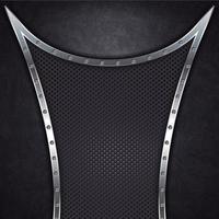 fundo de metal preto abstrato vetor