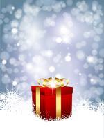 Fundo de presente de Natal