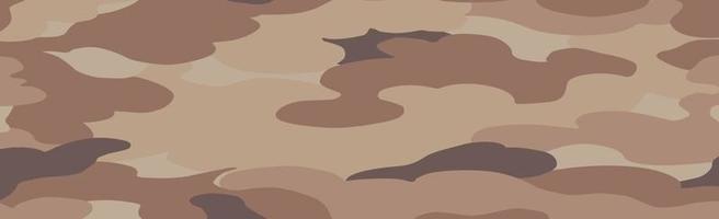 militar ou caça panorâmica caqui padrão geométrico sem costura - vetor