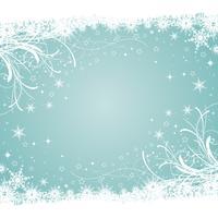 Fundo decorativo de inverno vetor