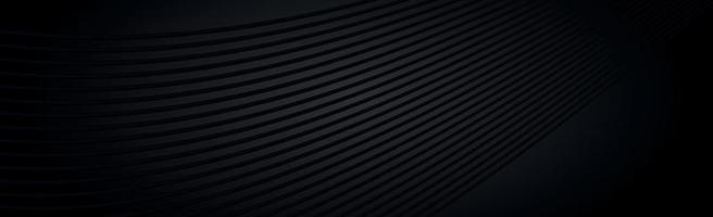 fundo panorâmico texturizado preto escuro abstrato - vetor