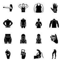 dieta saudável e fisiculturistas vetor
