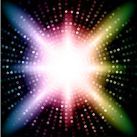 Luzes coloridas vetor