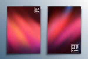 design de textura gradiente definido para plano de fundo, papel de parede, folheto, cartaz, capa de brochura, tipografia ou outros produtos de impressão. ilustração vetorial vetor