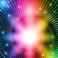 Luzes abstratas do arco-íris vetor