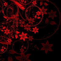 Desenho floral vetor
