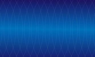 fundo de padrão de linhas suaves onduladas com cor azul vetor