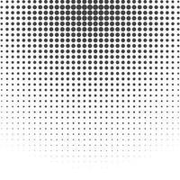 efeito de gradiente radial de meio-tom cenografia de fundo vetor