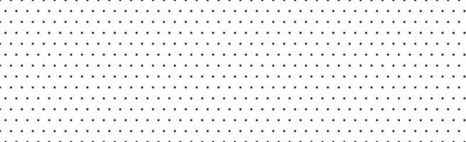 padrão panorâmico branco com pontos pretos - vetor