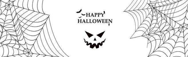 fundo branco sombrio com elementos do feriado de halloween vetor