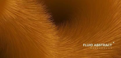 dourado nobre tendência da moda textura de pele fluido gradiente abstrato vetor